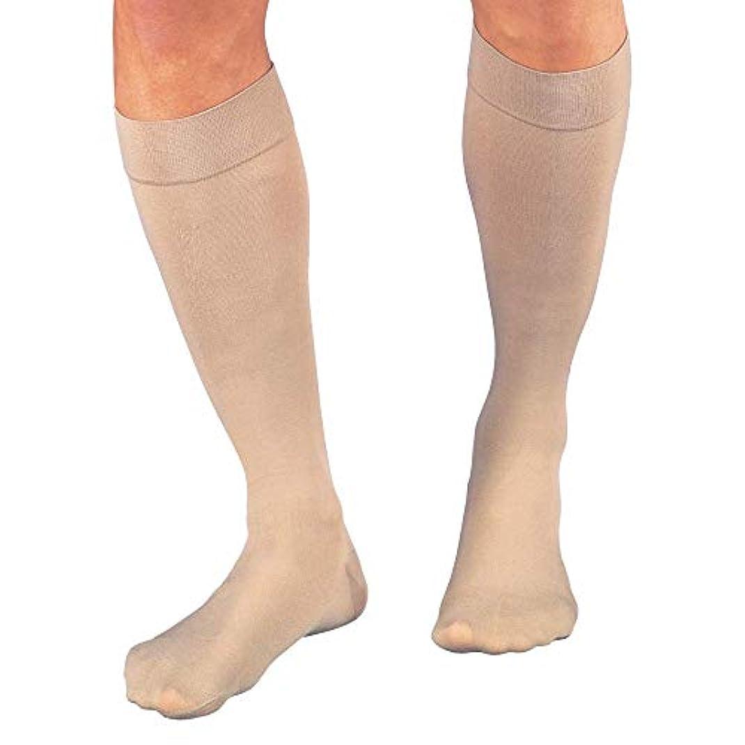 繁殖に対して模倣JOBST Relief Compression Socks Support Socks Knee High 15-20mmHg Closed Toe, L, Beige by Jobst
