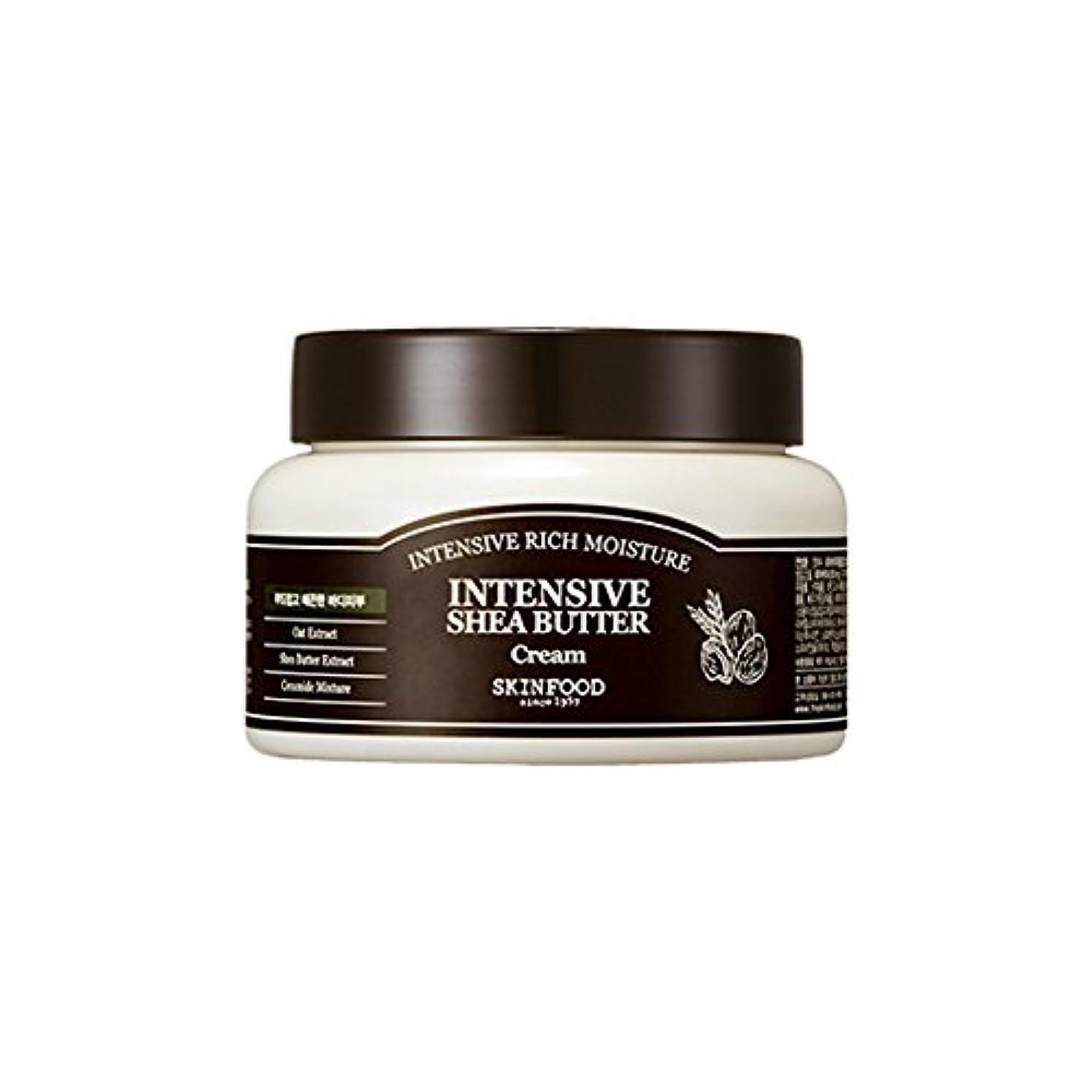 ハーフ魂タウポ湖[New] SKINFOOD Intensive Shea Butter Cream 225ml/スキンフード インテンシブ シア バター クリーム 225ml [並行輸入品]