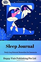 Sleep Journal: Daily Log Natural Remedies for Insomnia