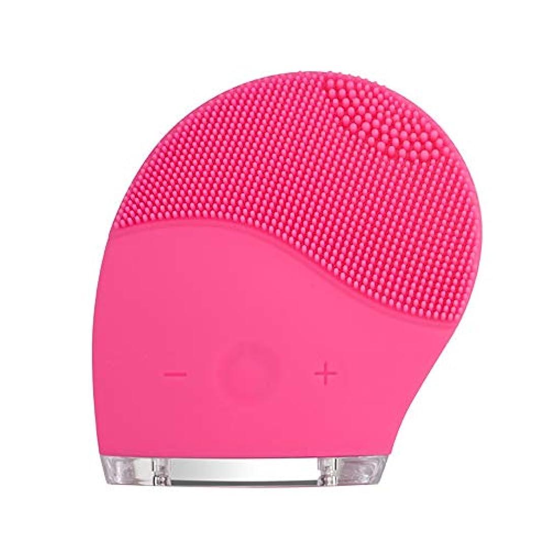 第四渇きバタフライkaixi 2019最新のシリコーンクレンジング楽器洗浄ブラシ電気美容器具毛穴きれいな柔らかい髪振動充電式洗浄アーティファクト