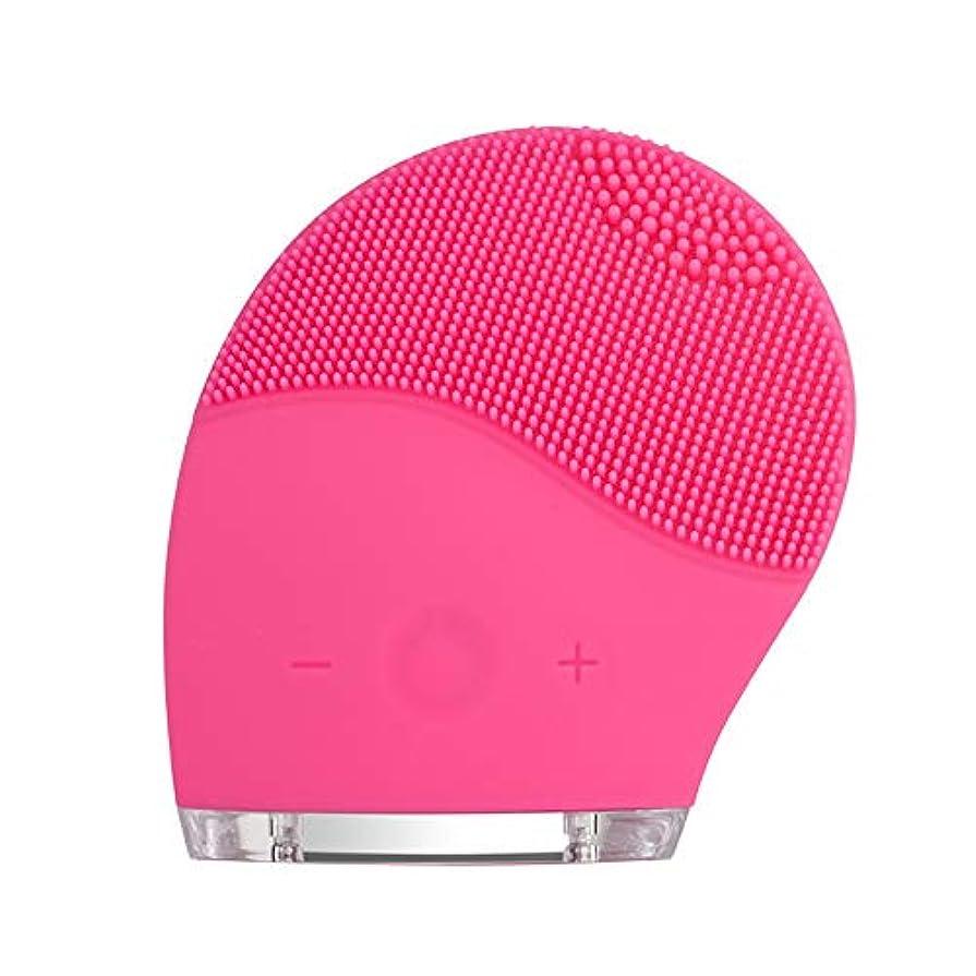 マイク東ティモール頑丈kaixi 2019最新のシリコーンクレンジング楽器洗浄ブラシ電気美容器具毛穴きれいな柔らかい髪振動充電式洗浄アーティファクト