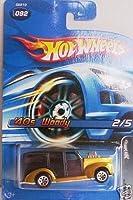 Hot Wheels 2005 '40s Woody Pin Hedz 2/5 BLACK #92 [並行輸入品]
