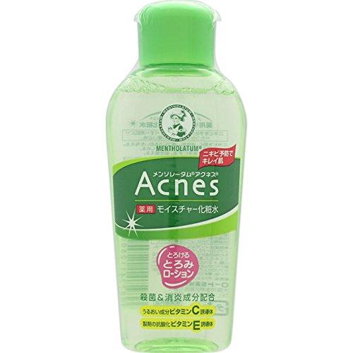 メンソレータム アクネス ニキビ予防薬用モイスチャー化粧水 120mL【医薬部外品】
