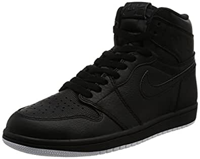 [ナイキ ジョーダン] スニーカー AIR JORDAN 1 RETRO HIGH OG  555088-002 BLACK/WHITE-BLACK 26
