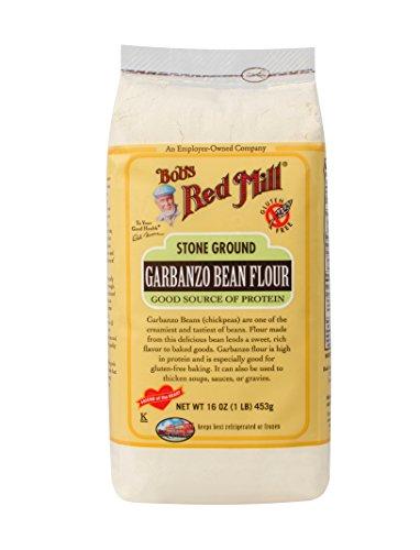 ボブズレッドミル グルテンフリー ガルバンゾ ビーン フラワー (ヒヨコマメ粉) 453 g