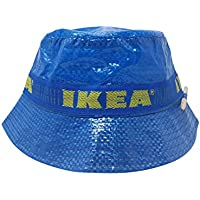 ASVP Shop IKEA Bucket Hat with Pencil Handmade Cap Fashion Street Wear Blue