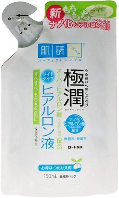 バーマド予定かわいらしい肌研 極潤ヒアルロン液ライトタイプつめかえ用 150ml