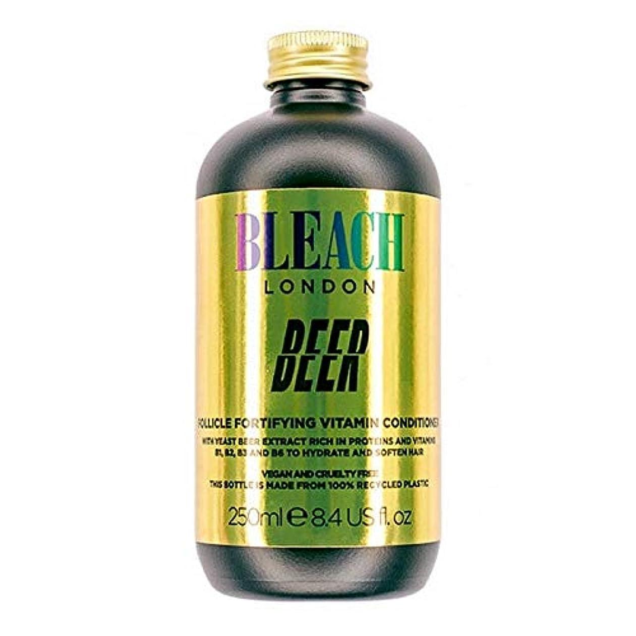 発掘クレタ関与する[Bleach London ] コンディショナー250Mlを強化漂白ロンドンのビールFolicle - Bleach London Beer Folicle Fortifying Conditioner 250ml [...