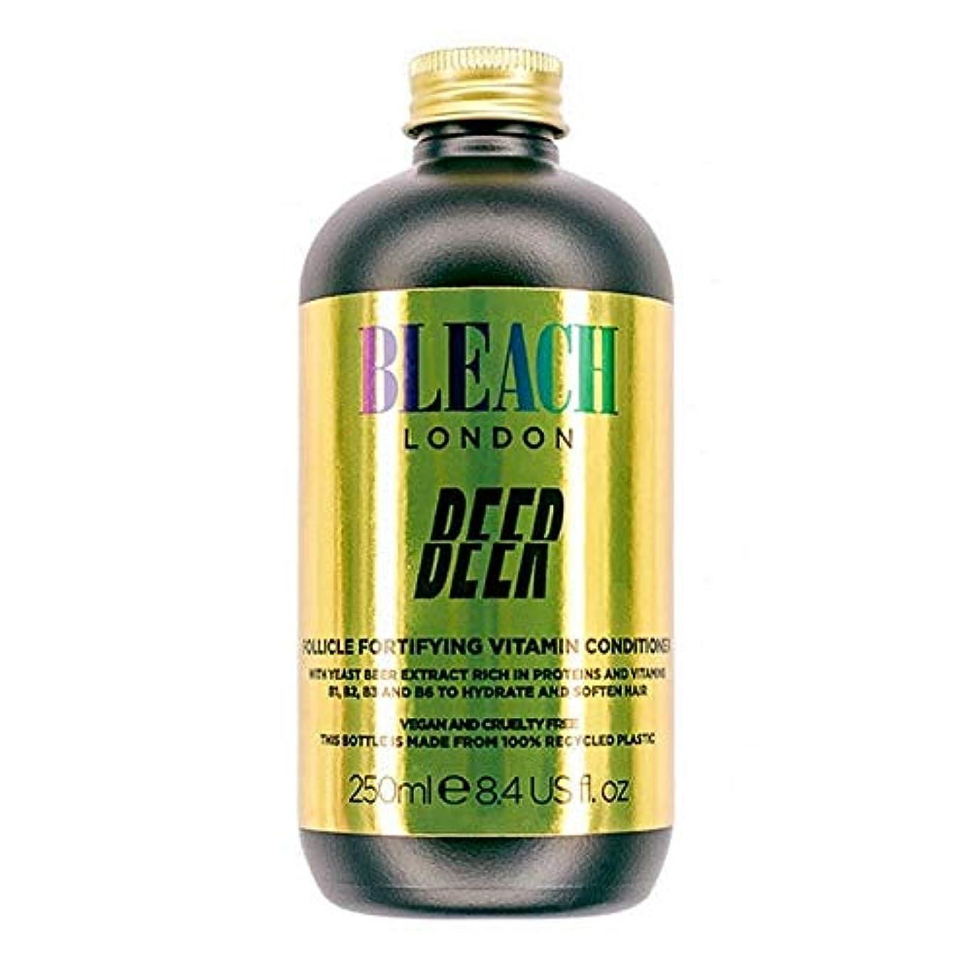 駅痛み留め金[Bleach London ] コンディショナー250Mlを強化漂白ロンドンのビールFolicle - Bleach London Beer Folicle Fortifying Conditioner 250ml [...