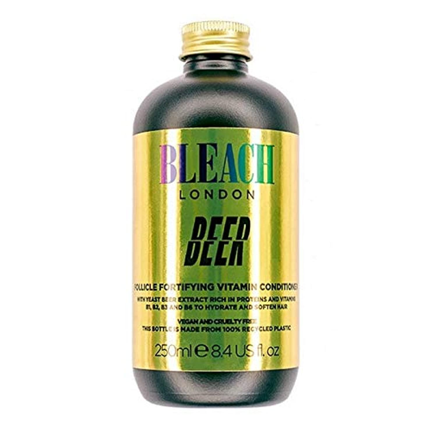 [Bleach London ] コンディショナー250Mlを強化漂白ロンドンのビールFolicle - Bleach London Beer Folicle Fortifying Conditioner 250ml [...