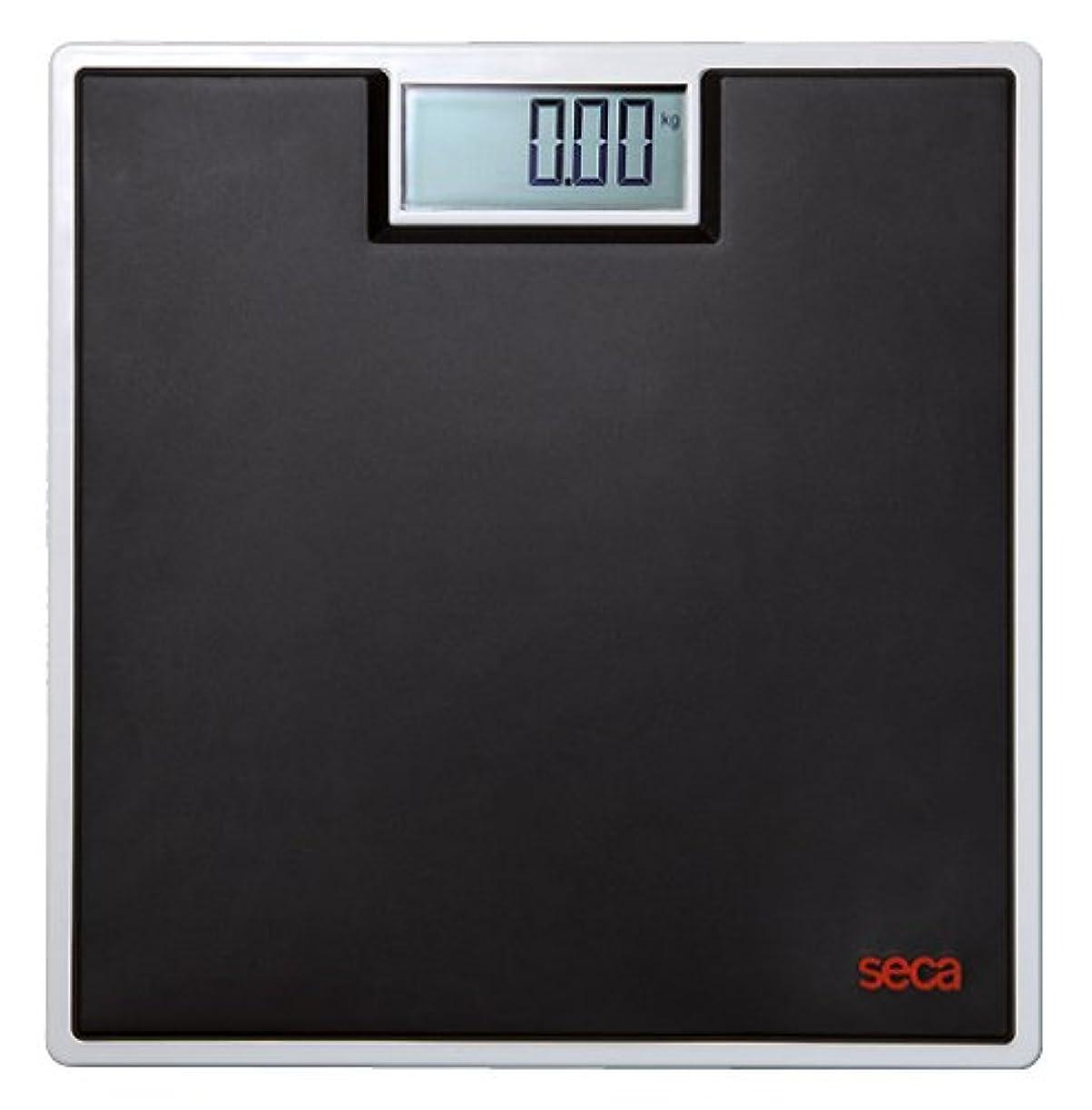 怠良さ慢【最大計量 150kg】 デジタルフラットスケール ブラック seca 803