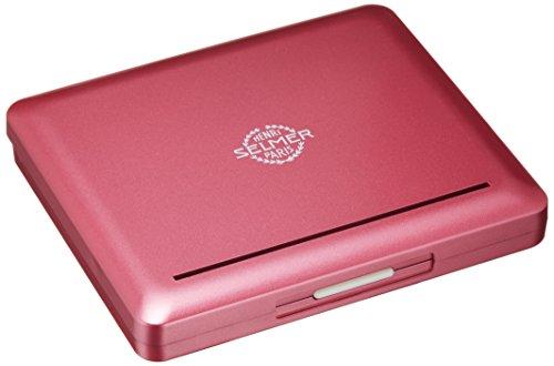 ノナカ アルトサクソフォン用 プラスチック製リードケース セルマーロゴ入り 10枚用 カラー チェリーレッド