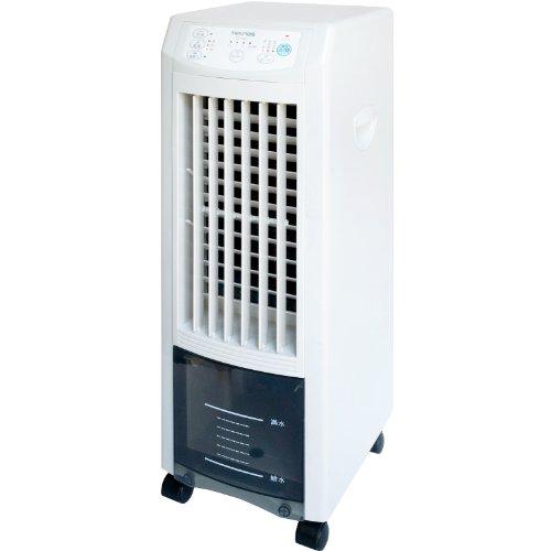 TEKNOS テクノイオン搭載 リモコン冷風扇風機 ホワイト/ブラック TCI-006