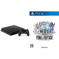 PlayStation 4 ジェット・ブラック 500GB(CUH-2000AB01) + ワールド オブ ファイナルファンタジー