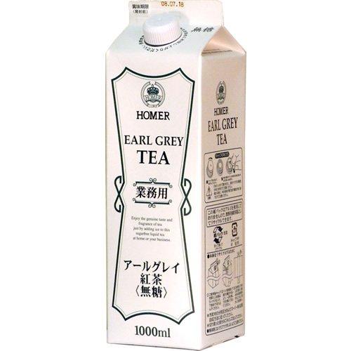 ホーマーコーポレーション ホーマー 紅茶アールグレイ 1000ml×12本