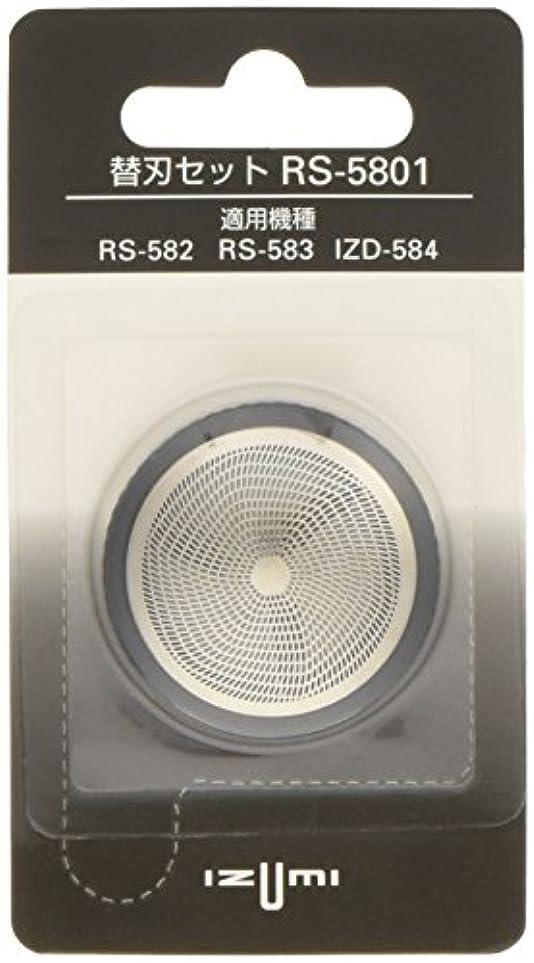 突き刺す遊具保有者IZUMI 回転式シェーバー用内刃?外刃セット RS-5801