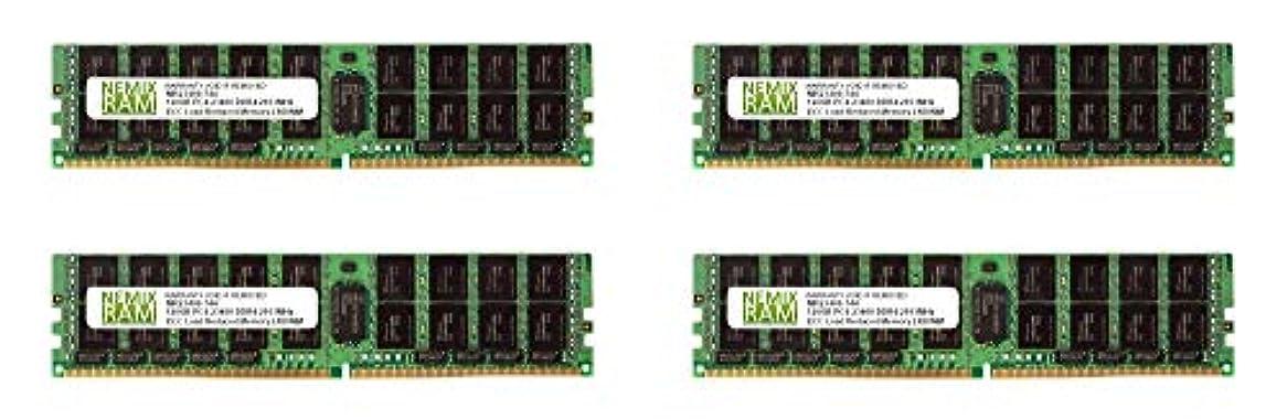 なので美徳別れるNEMIX RAM 512GB 4x128GB DDR4-2933 PC4-23400 4Rx4 ECC 登録済みサーバーメモリ