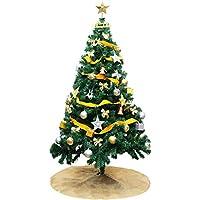 DABADA(ダバダ) クリスマスツリー 120cm 150cm 180cm 2019 全3色 LED イルミネーションライト オーナメント付 (180cm, ブルー)