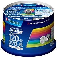三菱化学メディア VIDEO用 DVD-R VHR12JP50V3
