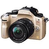 パナソニック デジタル一眼カメラ GH1 レンズキット コンフォートゴールド DMC-GH1A-N