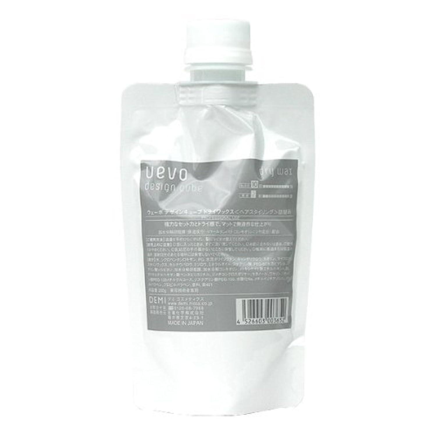 化学薬品予言する日光ウェーボ デザインキューブ ドライワックス 200
