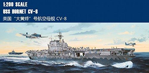 メリットインターナショナル 1/200 米海軍空母 CV-8 ホーネット プラモデル[並行輸入品]