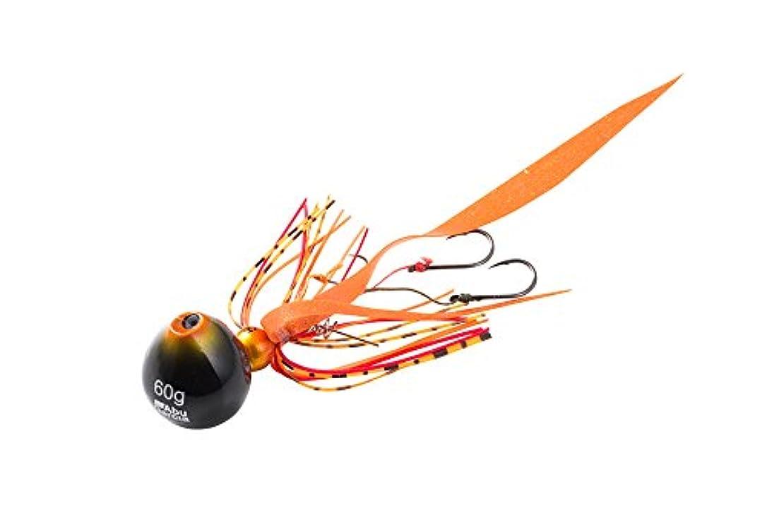 飛び込む殺すシダアブガルシア(Abu Garcia) タイラバ カチカチ玉 60g+5g SSKKD60+5-SHOR シュリンプオレンジ.