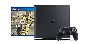 PlayStation 4 ジェット・ブラック 1TB (CUH-2000BB01) + FIFA 17