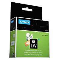DYMO LabelWriter MultiPurpose - Permanent adhesive labels - black on white - 0.98 in x 2.13 in 500 label(s) ( 1 roll(s) x 500 ) - for DYMO Desktop Mailing Solution Twin Turbo LabelWriter & S