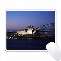 オーストラリア、シドニー、ニューサウスウェールズ州。シドニーオペラハウス。 PC Mouse Pad パソコン マウスパッド