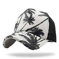 WHITE FANG(ホワイトファング) 帽子 メッシュ キャップ ロゴ マリン サーファー 海 スポーツ メンズ レディース CA220 (01:ブラック)