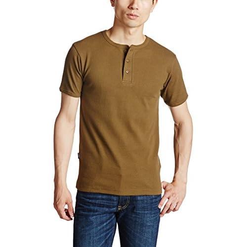 (アヴィレックス)AVIREX AVI-DAILY S/S HENLEY 6143504 75 OLIVE M Tシャツ