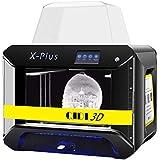 QIDI TECH 3D Printer, Large Size X-Plus Intelligent Industrial Grade 3D Printing with Nylon, Carbon Fiber, PC,WiFi/LAN,High Precision Printing 0.05-0.4mm,270 * 200 * 200mm