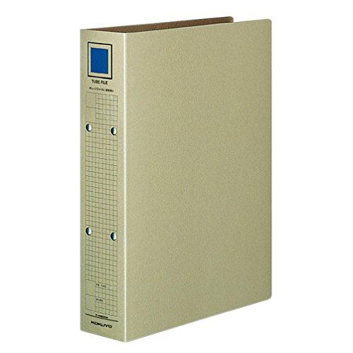 コクヨ チューブファイル 保存用クラフトボード 2穴 A4 300枚収容 グレー フ-VM650M