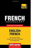 French vocabulary for English speakers - 9000 words