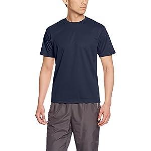 [グリマー]半袖 4.4オンス ドライ Tシャツ [クルーネック] 00300-ACT 031 ネイビー Lサイズ [メンズ]