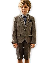 (キャサリンコテージ) Catherine Cottage 男児スーツ 入学式 男の子 フォーマル 卒園式 入学式 結婚式 発表会 男児 110 120 130cm ショールカラージャケットスーツ6点セット
