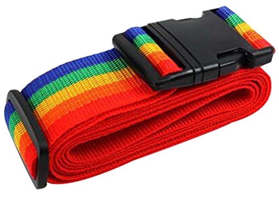 好む遺産契約した調整可能な荷物ストラップスーツケースストラップトラベルベルトアクセサリー [F]