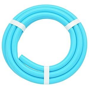 ガオナ これカモ 二槽式洗濯機用 給水ホース 4.0m (長さ調節可能 パステルブルー) GA-LC018