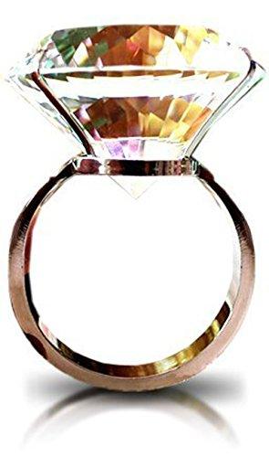 超 特大 の サプライズ 結婚 指輪 ! 一生 思い出 に残る ♪ (01. 8cm)