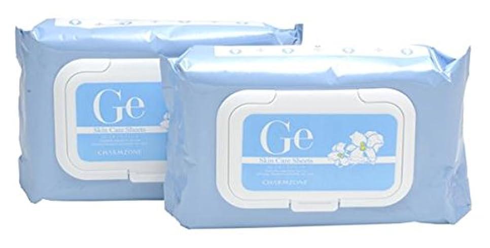 承認ブランド名病チャームゾーン Geスキンケアシート (ホワイトリリー)60枚×2個
