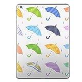 igsticker 第2世代 iPad Pro 10.5 inch インチ 2017年発売 共通 スキンシール apple アップル アイパッド プロ A1701 A1709 タブレット tablet シール ステッカー ケース 保護シール 016321 傘 梅雨 カラフル