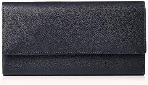 3f2e6503807c [ハマノ] 濱野皮革工藝 グレース ロングウォレット ギャルソンタイプ 09-67602 ネイビー