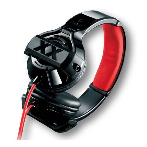 JVC HA-XSR10X XXシリーズ 密閉型オンイヤーヘッドホン リモコン付 ブラック&レッド