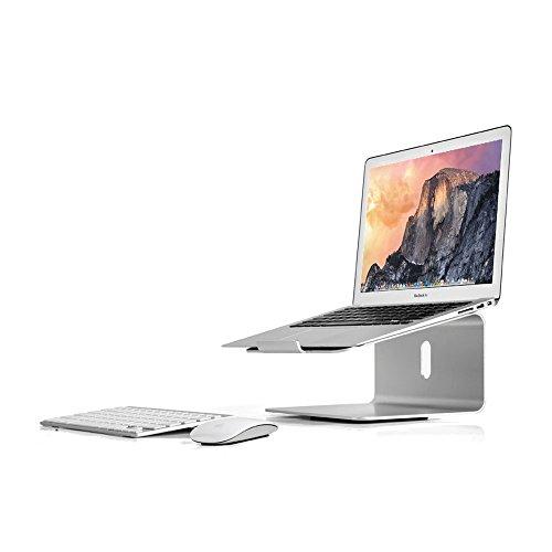[해외]ADDED (아뎃도) 노트북 스탠드 미끄럼 방지 가공 360 ° 회전 17 인치까지 사용 가능 충전 구멍/ADDED (Adde) laptop stand Anti-slip processing 360 ° rotation available up to 17 inches Charging hole included