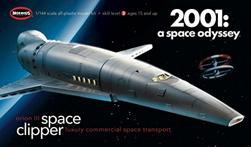 MOE2001-2R 2001, space journey 1/160 space Clipper Orion plastic model Kit