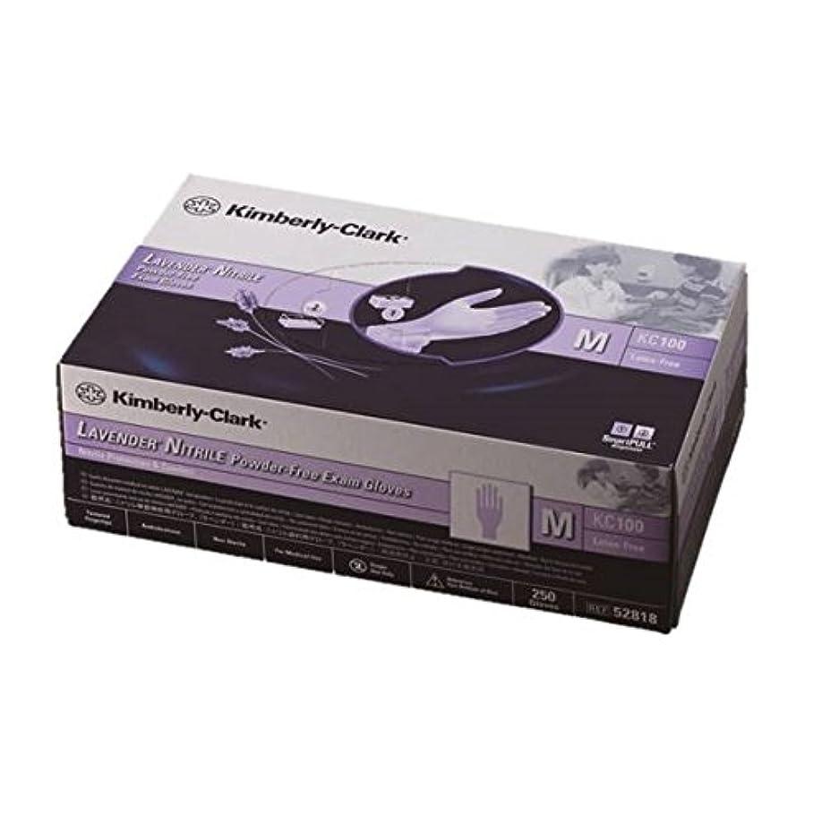 ブラシ鋸歯状儀式ラベンダー ニトリル グローブ 10 箱