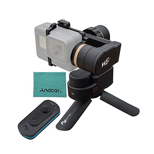 FeiyuTech WG2 3軸 防水 ウェアラブル ジンバル 支持APP ワイヤレス リモコン Andoerクリニングクロス 専用リモコン& ミニ ジンバル三脚 付き GoPro Hero5 Hero4セッション用 Xiaomi Yi などアクションカメラ用 日本語説明書付き