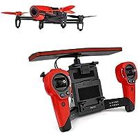 【国内正規品】Parrot ドローン Bebop Drone + Skycontroller 1400万画素魚眼 8GB 内部フラッシュメモリー レッド PF725140