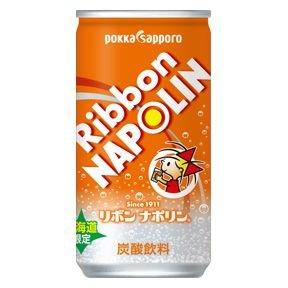 北海道限定 ポッカサッポロ リボンナポリン190ml缶30本